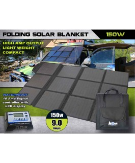 Korr Lighting 150w Folding Solar Blanket