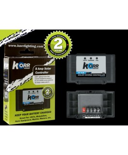 Korr Lighting 8A Solar Controller (Each)