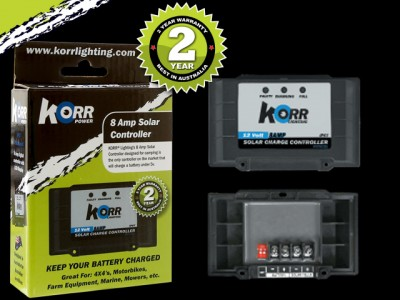 Korr Lighting 8A Solar Controller