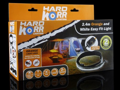 KORR 2.4m Orange/White Ezy-Fit LED Strip