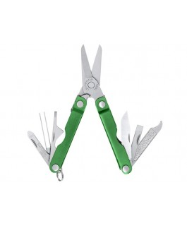Leatherman Micra in green anodise
