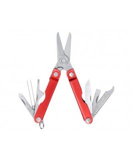 Leatherman Micra in red anodise