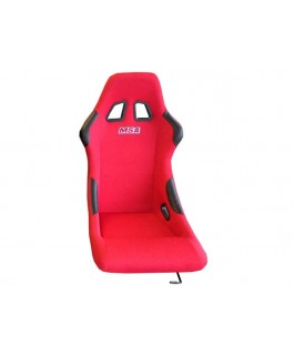 MSA Safety Racing Seat Steel (Red)