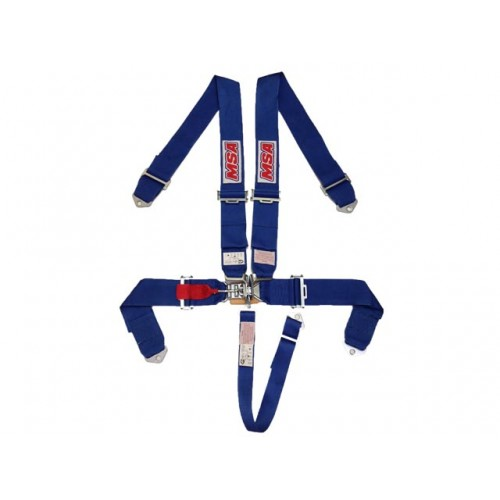 MSA Safety 5 Point Racing Harness SFI 16 1 spec Approved (Blue