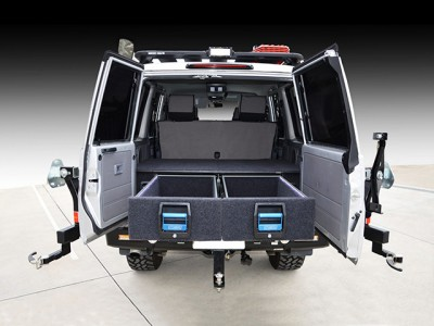 MSA 4x4 Double Drawer System Suitable For Toyota Landcruiser 76 Series