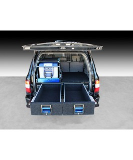MSA 4x4 Double Drawer System Suitable For Toyota Landcruiser 100 Series