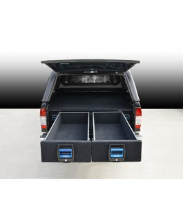 MSA 4x4 Double Drawer System Suitable For Nissan Navara D22