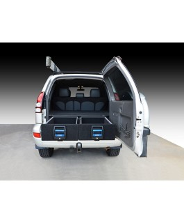 MSA 4x4 Double Drawer System Suitable For Toyota Prado 120