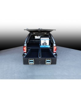MSA 4x4 Double Drawer System Suitable For Volkswagen Amarok (Adblue Models)