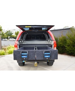 MSA 4x4 Double Drawer System Suitable For Holden Colorado RG/Isuzu Dmax 2012 on