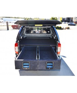 MSA 4x4 Double Drawer System Suitable For Ford Ranger PX/PXII - Mazda BT50 2011 on