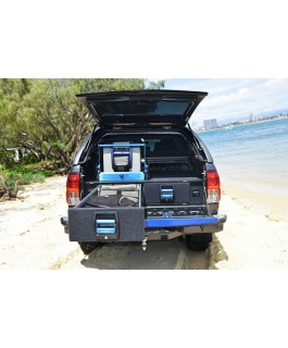 MSA 4x4 Double Drawer System Suitable For Toyota Hilux Revo 2015 on