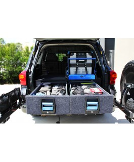 MSA 4x4 Double Drawer System Suitable For Toyota Landcruiser 200 Series 2008-16
