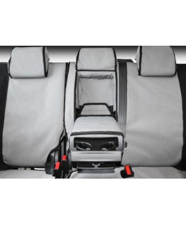 MSA 4X4 Premium Canvas Seat Covers Suitable For Toyota Landcruiser 80 Series 1990-97 Standard (Second Row Full Width Bench)