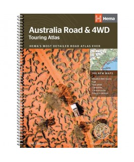 Australia Road and 4WD Touring Atlas