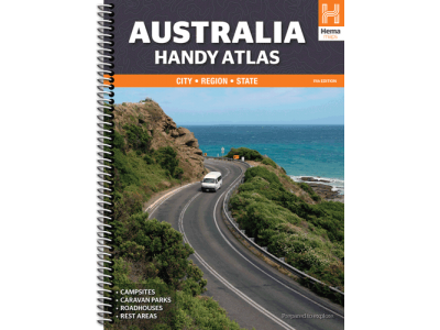 Australia Handy Atlas 11th Edition Spiral