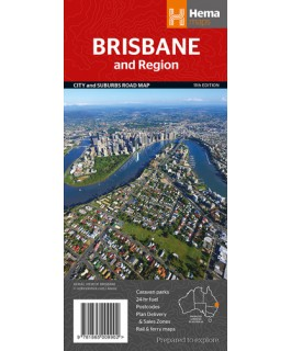 Brisbane and Region Map Hema