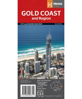 Gold Coast and Region Map Hema