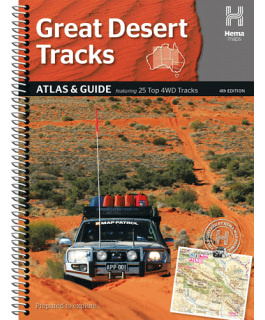 Great Desert Tracks Atlas and Guide Hema