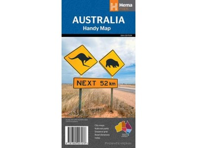 Australia Handy Map Hema