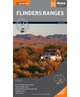 Flinders Ranges Hema Map