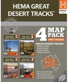 Great Desert Tracks Map Pack Hema