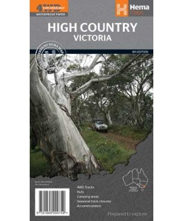 The High Country Victoria Hema Map