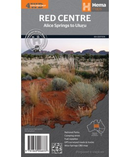 The Red Centre Hema Map