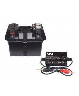 Mean Mother Portable 12V Battery Box / Bluetooth Battery Monitor Bundle