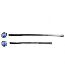 Superior 300M Axles with Drive Plates Suitable For Toyota Landcruiser 76/78/79 Series (Pair)