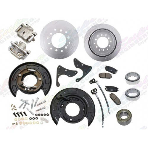 Pedders Trakryder Rear Disc Brake Conversion Kit Suitable For Isuzu