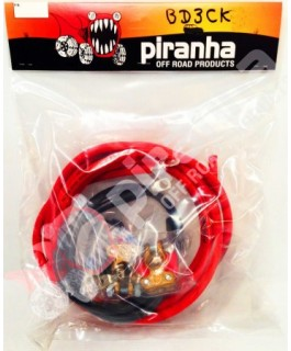 Piranha Offroad Short Under Bonnet Wiring Kit for DBE140s inc Midi Fuse and Holder
