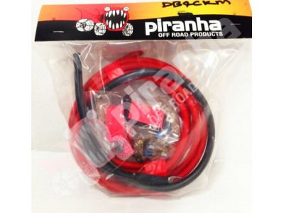 Piranha Offroad Standard Under Bonnet Wiring Kit for DBE140s inc Midi Fuse and Holder