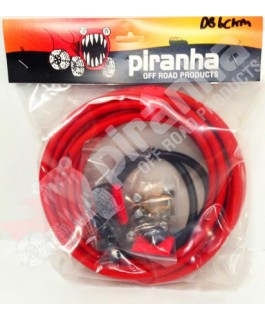 Piranha Offroad Dual Battery Wiring Kit inc Midi Fuse and Holder