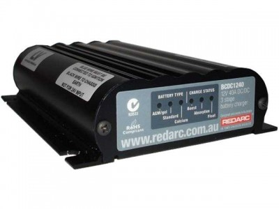 REDARC 40A In Vehicle Battery Charger/MPPT Regulator(Low Voltage Version)