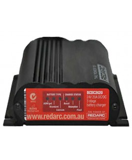 REDARC 24V 20A In Vehicle Battery Charger/MPPT Regulator