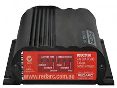 REDARC 24V 20A In Vehicle Battery Charger/MPPT Regulator