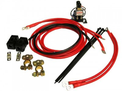 REDARC Battery Isolator and Wiring Kit 12V