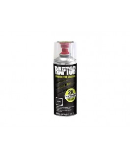 Raptor Coating 2K Aerosol 400ml 375gm (Black) (Kit)