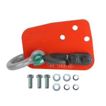 Superior Heavy Duty Rated Towing Point Suitable For Nissan Patrol GQ/GU (With Hook and Bow Shackle)