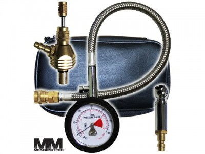 Mean Mother Tyre Deflator & Gauge Kit