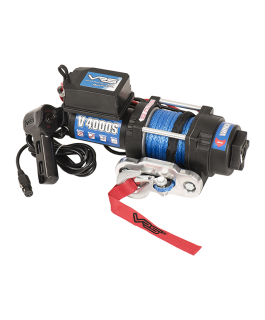 VRS Utility Winch with Synthetic Rope - 4000lbs (Each)