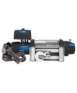 VRS Winch with Wire Rope - 9500lbs (Each)