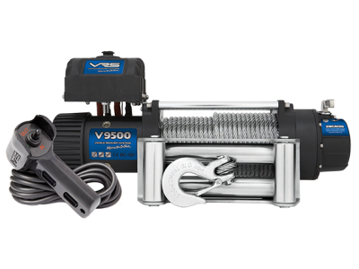 VRS Winch with Wire Rope - 9500lbs