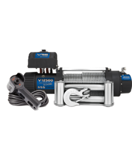 VRS Winch with Wire Rope - 12500lbs (Each)