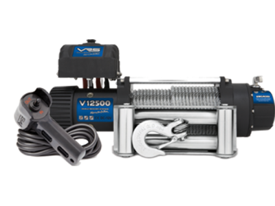 VRS Winch with Wire Rope - 12500lbs