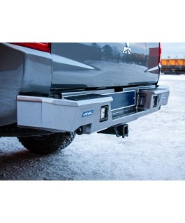 Rival Alloy Rear Bar with integrated 3.5T Tow Suitable For Mitsubishi Triton MQ