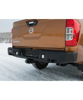 Rival Alloy Rear Bar with integrated 3.5T Tow Suitable For Nissan Navara NP300/D23