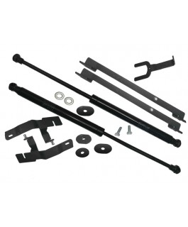 Rival Bonnet Strut Kit Suitable For Volkswagen Amarok with Torqs bit bolts on inner guard