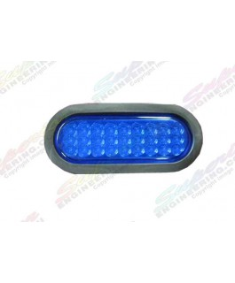 LED Light Oval Lens(Blue)